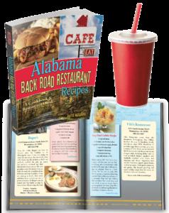 Alabama Back Road Restaurant Recipes Cookbook